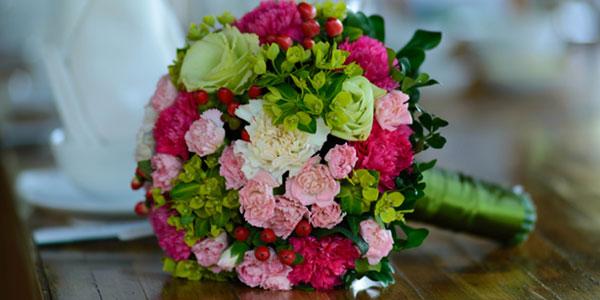 Fleurs  pour un mariage romantique